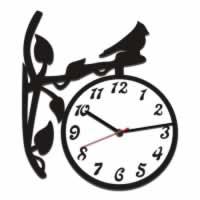 """Декоративные часы """"Птичка-сторож"""""""