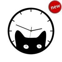 """Декоративные часы """"Кот"""""""