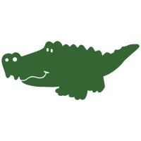 Виниловая наклейка «Крокодил»