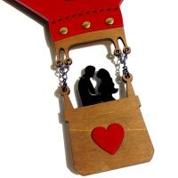 """Декоративные часы """"Влюбленная пара"""""""
