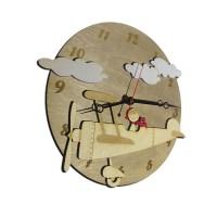 """Декоративные часы """"Полет в облаках"""""""