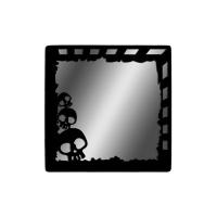 "Декоративное зеркало ""Черепа"""