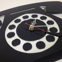 """Декоративные часы """"Телефон"""""""