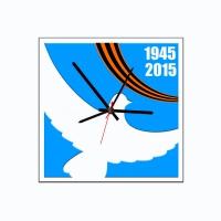 """Декоративные Часы """"Голубь победы"""""""