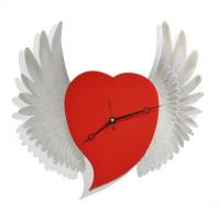 """Декоративные часы """"Крылья любви"""""""