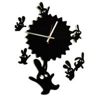 """Декоративные часы """"Парашютисты"""""""