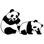 Виниловая наклейка «Панда»