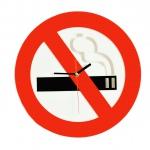 """Декоративные часы """"Не курить"""""""