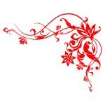 Виниловая наклейка «Летняя волна»