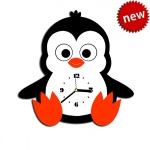 """Декоративные часы """"Пингвин"""""""