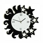 """Декоративные часы """"День и ночь"""""""