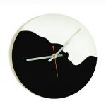 """Декоративные часы """"Инь и Янь"""""""