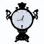 """Декоративные часы """"Самовар"""""""