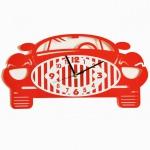 """Декоративные часы """"Машина"""""""