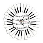 """Декоративные часы """"Пианино"""""""